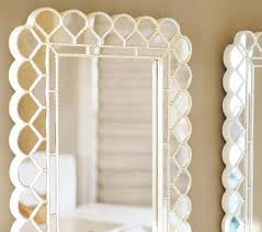 Floor Mirror Pottery Barn White Circle Blossom Floor Mirror Pottery Barn Kids