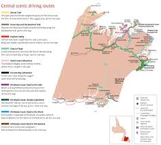 Grand Central Map Central Newfoundland Scenic Driving Routes Map