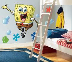 spongebob squarepants giant wall stickers stickers for wall com spongebob squarepants giant wall stickers