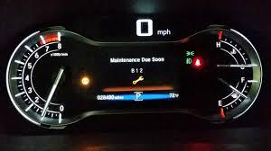 service light on car first 30k mile service or maintenance due soon dash light honda