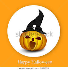 cute pumpkin happy halloween night party collection
