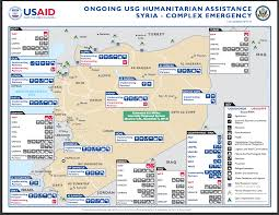 Geneva Map Usaid Humanitiarian Assistance Syria Complex Emergency Map Us