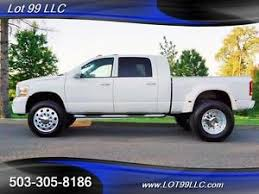 dodge ram mega cab dually for sale 2006 dodge ram 3500 laramie 5 9l mega cab dually single