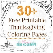 printable coloring sheets for thanksgiving u2013 festival collections