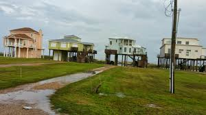 Beach Houses On Stilts by Don U0027t Quit Your Daydream May 11 2015 Galveston Texas