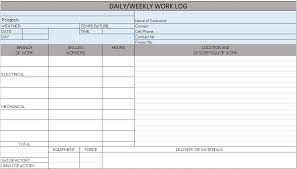 daily site report template free construction project management templates in excel
