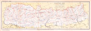 Nepal India Map by Nepal Maps Mcadd Pahar