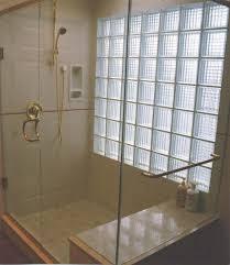 Glass Block Bathroom Designs The Most New Glass Block Bathroom Designs Intended For Residence