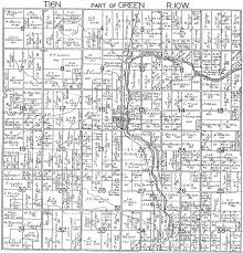 plat maps 1918 green township mecosta county michigan plat map