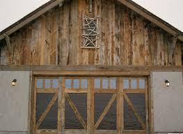 Wood Overhead Doors Wood Garage Doors By Montana Rustics