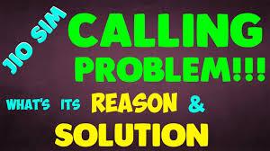 jio sim calling problem call drop call failure what s its