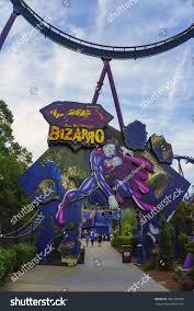 Bizarro Six Flags Great Adventure New Jersey Usa June 20 2016 Stock Photo 442740580 Shutterstock