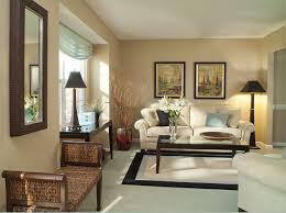 interior rattan long chair bedroom mirror floor lamp soft beige