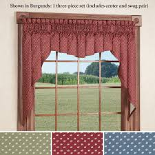 Kitchen Curtains Valances And Swags by Living Room Curtains And Valances And Swags Swag Valance For