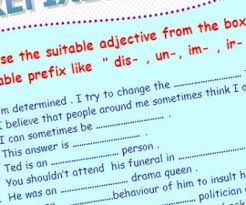 prefixes suffixes busyteacher free printable worksheets for