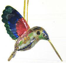 cloisonne hummingbird ebay
