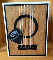 happy s day guitar card for blank card inside by