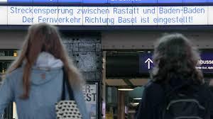 Volksbank Rastatt Baden Baden Chaos Auf Der Rheintalstrecke Was Bahnfahrer Jetzt Wissen Müssen