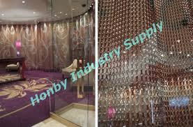 Chain Room Dividers - 12mm multicolor aluminum chain string curtain room divider buy