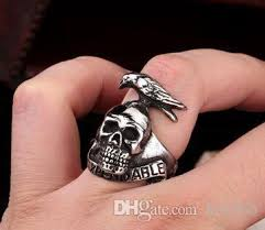 men rings style images 316 stainless steel fashion the expendables skull mens ring band jpg