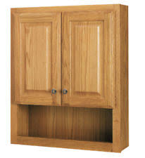 Bathroom Wall Mounted Cabinets by Oak Bathroom Cabinet Ebay