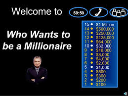 game who wants to be a millionaire