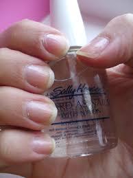 review sally hansen hard as nails u2013 nail strengthener u2013 chyaz