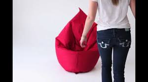 Brown Leather Bean Bag Chair How To Use Our Bean Bag Chairs Youtube