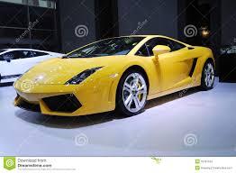 Lamborghini Gallardo Lp550 2 - yellow lamborghini gallardo lp 550 2 coupe editorial stock photo