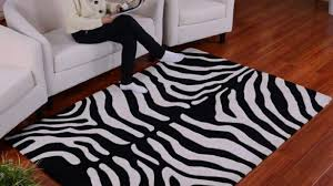 Brown Zebra Area Rug Zebra Print Area Rug Bedroom Windigoturbines Brown Zebra Print