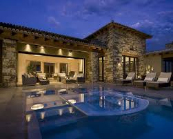 Home Design Ideas With Pool Licious Natural Stone House Element Design Ideas With Fashionable