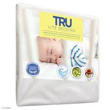 Vinyl Crib Mattress Cover by Smooth Crib Mattress Protector Trulitehome