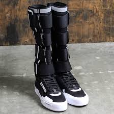 mens black riding boots puma x ueg men court play boot black white