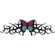 tribal butterfly designs clipart library hanslodge cliparts