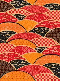 Japanesestyle A Japanese Style Pattern Of Japan Royalty Free Cliparts Vectors
