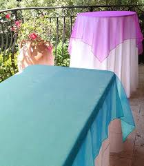108 tablecloth on 60 table 60 x 108 organza rectangular overlay