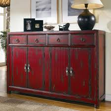 Oriental Secretary Desk by Hooker Furniture Chests And Consoles Red Asian Cabinet Stoney