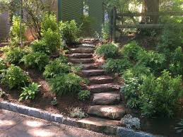 Sloping Backyard Landscaping Ideas Landscaping Ideas For Slopes Landscaping Ideas Backyard Slopes