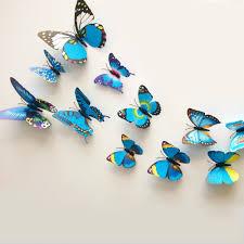 butterfly 3d wall decal stickers create your own beautiful wall 7321bea702df300f3ecc0dd240120958 85816d784c264eee39801dbf7718aa61 butterfly wall art blue