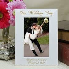 personalized wedding photo frame engraved wedding photo frames imbusy for