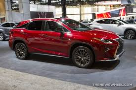 lexus suv pics 2017 lexus rx 300 f sport suv on display chicago auto 2