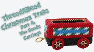 threadabead christmas train ornament pattern part 4 the goods