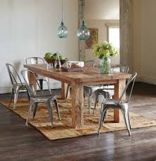 Rustic Oval Dining Table Narrow Rustic Dining Table Rustic Dining Table With Metal