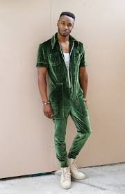 mens jumpsuit fashion diy s velvet jumpsuit norris danta ford
