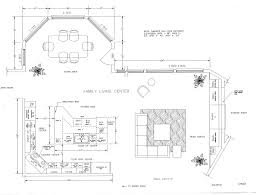 Floor Plan Kitchen Layout by Kitchen Plans With Dimensions And Beautiful Floor 2390x1785