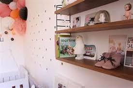 étagères chambre bébé étagère chambre bébé etag re murale contemporaine blanche mistie