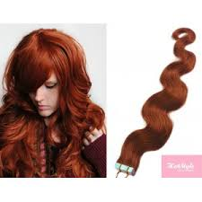 remy hair extensions 20 50cm hair in human remy hair wavy copper