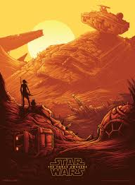 star wars the force awakens theatrical poster first look in