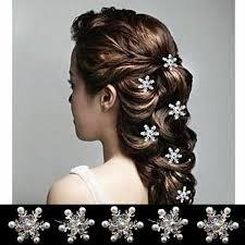hair clasp 2017 new arrival rhinestone snowflake hair clasp frozen frozen
