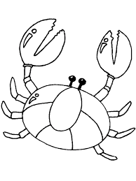 children crab coloring pages animal coloring pages of
